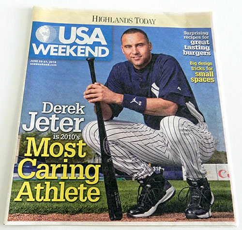 USA Weekend - Derek Jeter