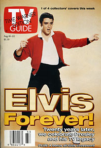 TV Guide - Elvis Forever! Cover (1997)